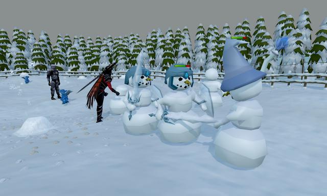 File:Land of Snow snowmen battle.png