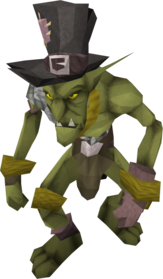 Yellow goblin mail equipped