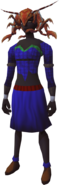 Clawdia hat equipped