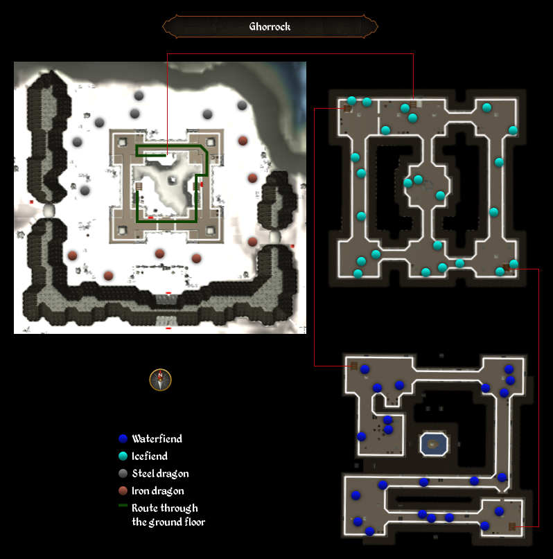 Ghorrock map