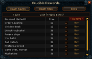 Crucible Rewards