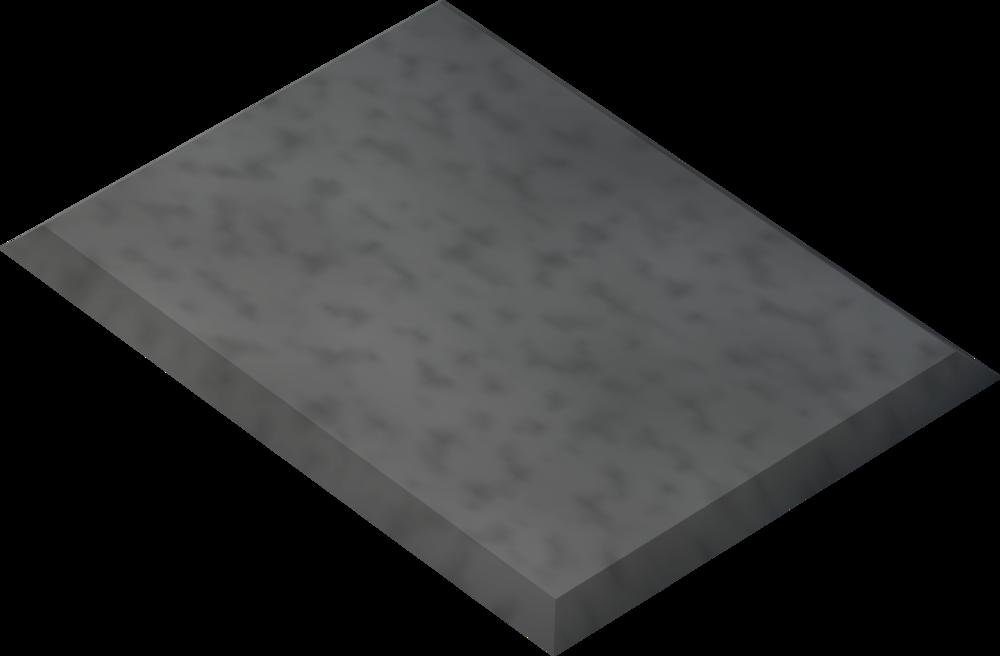 Metal rectangle detail