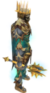 Deathless Regent weapons equipped