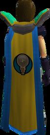 Retro invention cape (t) equipped