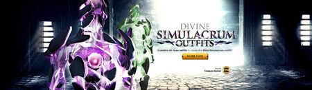 Divine Simulacrum outfit head banner