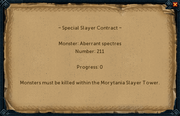 Special slayer contract interface