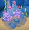 Coral reef (Aquarium) built