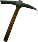 Adamant pickaxe detail old