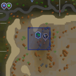 Al Kharid mining site resource dungeon entrance location
