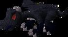 Baby dragon (black) pet old