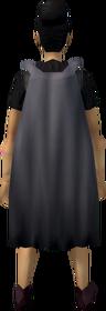 Fremennik cloak (grey) equipped