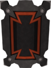 Black sq shield detail