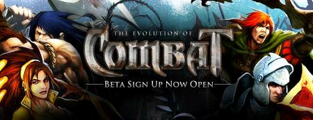 Combat Beta Sign Up Banner