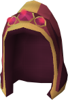 Completionist hood (t) detail