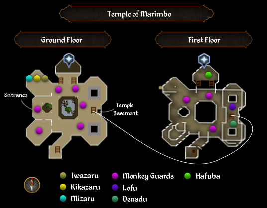 Temple of Marimbo map