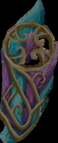 Attuned crystal ward detail