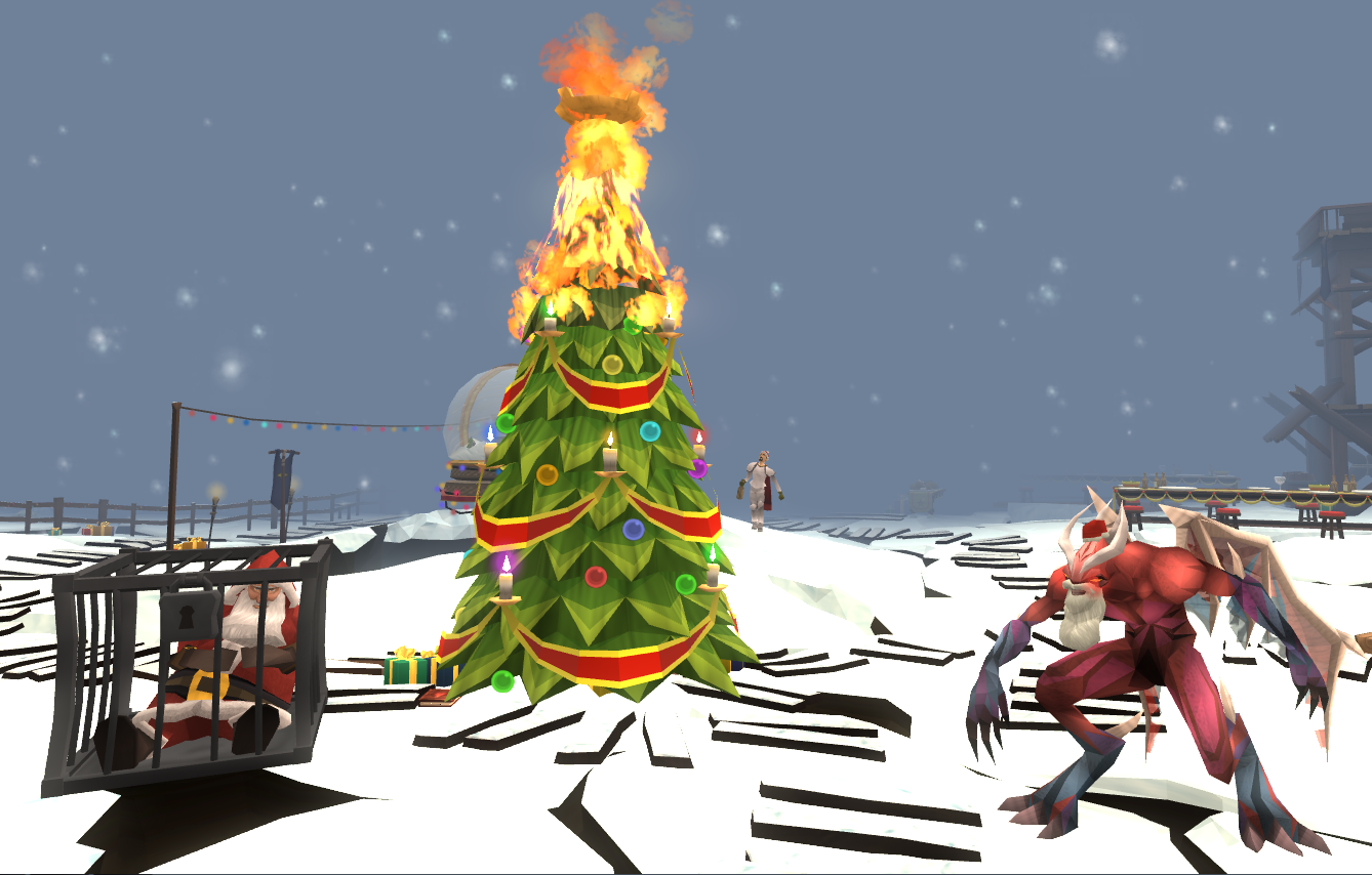 Image - Flaming Christmas tree.png | RuneScape Wiki | FANDOM ...