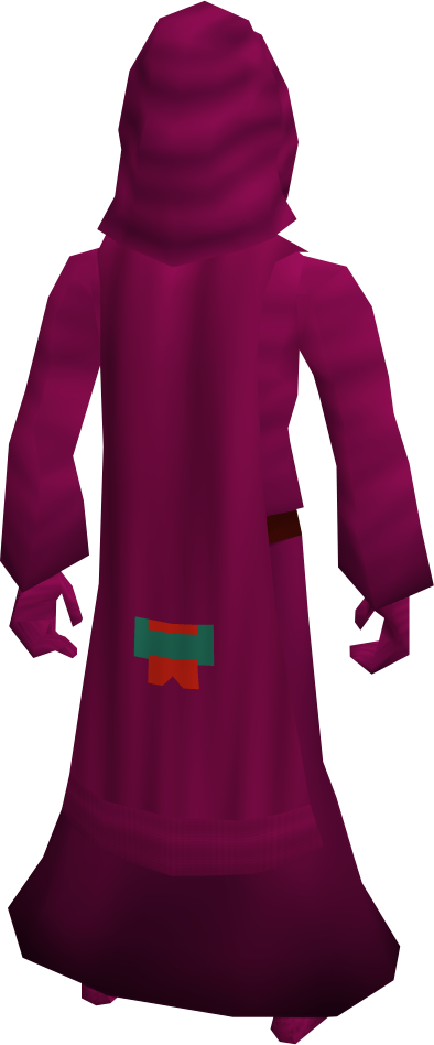 H.a.m. cloak equipped