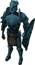 Rune armour set (lg) equipped