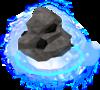 Divine coal rock detail