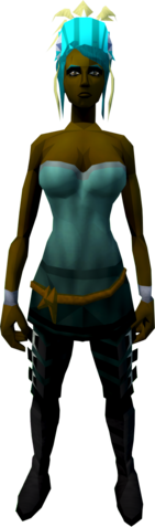 File:Feather headdress (charged) (yellow) equipped.png