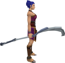 Water staff (Dungeoneering) equipped