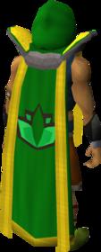 Retro herblore cape (t) equipped