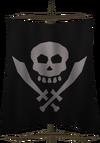 Cutthroat flag detail