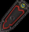 Black shield (h3) detail
