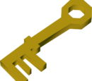 Crystal-mine key
