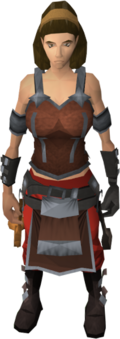 Linza's outfit equipped (female)