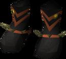 Dragon ceremonial boots
