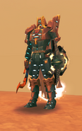 Level 90 melee armour ingame teaser