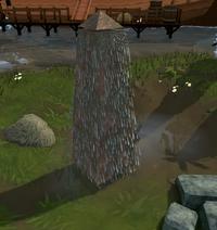Obelisk of water