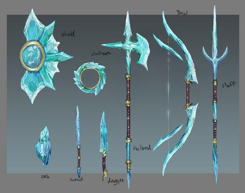 Crystal equipment concept art