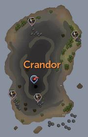 Crandor map (map)