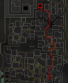 Darkness of Hallowvale mine route map.png
