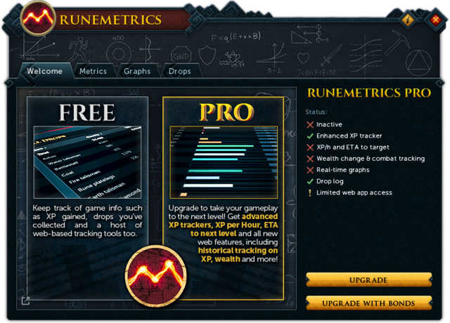 File:RuneMetrics (Welcome) interface.png