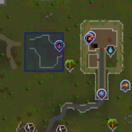 Guthix's Cave entrance location
