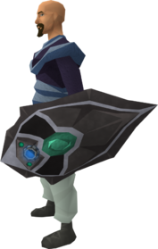 Augmented chaotic kiteshield equipped