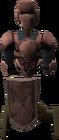 Basic decorative armour stand built
