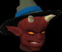 Imp chathead Whitezag's hat