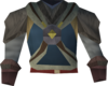 Tribal shirt (purple) detail
