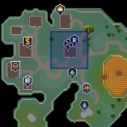 Dairy churn (Zanaris) location