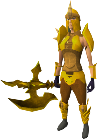 File:Golden Dharok the Wretched's equipment equipped (female).png