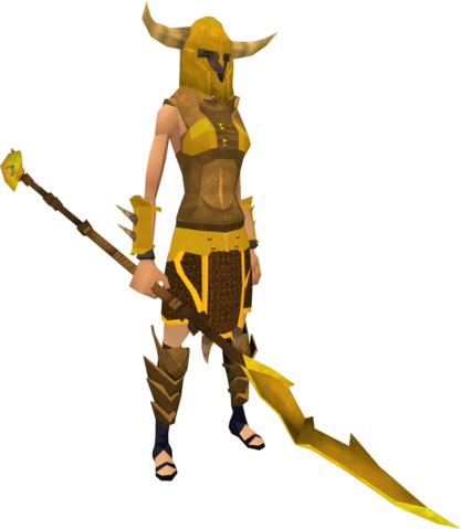 File:Golden Guthan the Infested's equipment (female) equipped.png