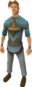 Saradominist ceremonial robe outfit equipped