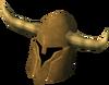 Golden Guthan's helm detail