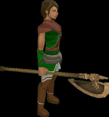 File:Bronze halberd equipped.png