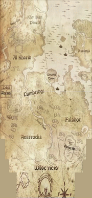 Gielinor map in Fourth Age